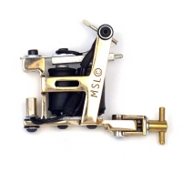 Brass Hybrid Tattoo Machine Micky Sharpz