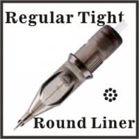 Regular Tight Round Liner 0.35mm
