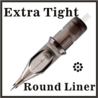Round Liner - Extra Tight 0,35 мм  / Super X-long Taper