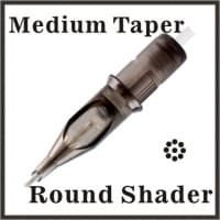Round Shader - Medium Taper 0.35mm Diameter Medium Taper