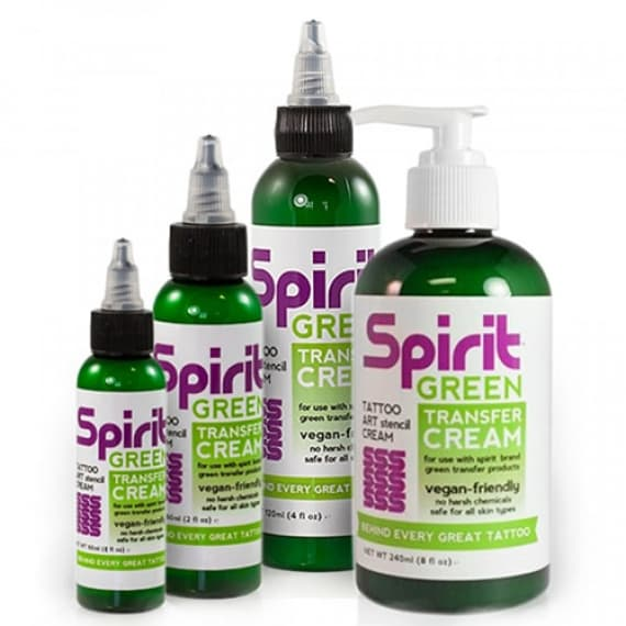 Spirit Transfer Cream Green