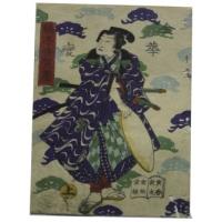 гравюра самурай HOKUSAI-Shool Katsushika 1860 коллекция MASTERSKIN