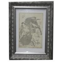 гравюра самурай и бык HOKUSAI-Shool Katsushika 1860 коллекция MASTERSKIN