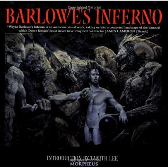 Barlowe's Inferno Hardcover – December 8, 1998  с автографом автора
