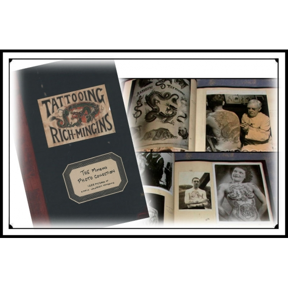 Tattoo History Books - The Mingins Photo Collection